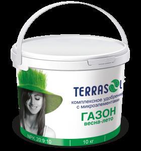 Удобрение TerraSol Газон Весна-Лето 10 кг.