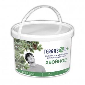 Удобрение TerraSol гранулированное хвойное 10 кг.