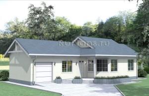 Проект уютного дома Rg1624