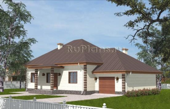 Проект одноквартирного дома с подвалом Rg3830