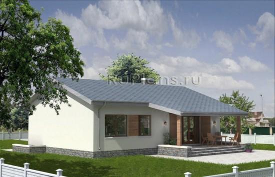 Проект дома с подвалом Rg3814