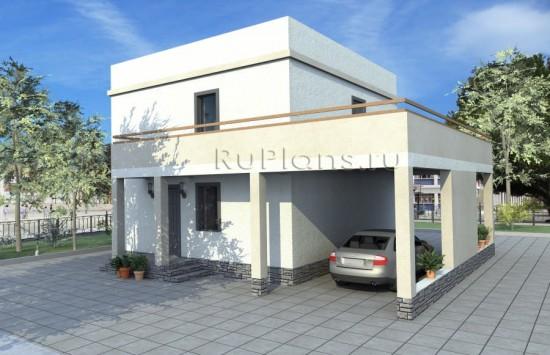 Проект двухэтажного, комфортного дома Rg3231