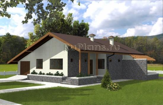 Интересный дом с террасой Rg3836