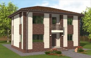 Эскизный проект двухэтажного дома Rg4928