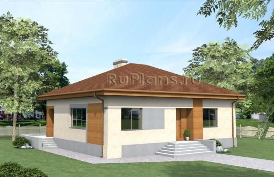 Проект загородного дома Rg4029