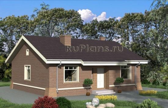 Проект одноэтажного дома Rg4850