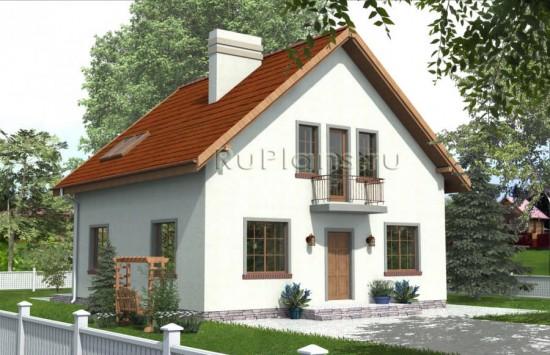 Проект дома с мансардой Rg3862