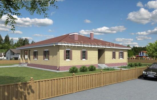 Комфортный одноэтажный дом Rg3896