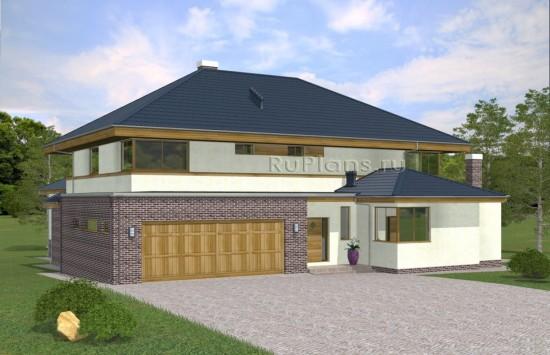 Просторный двухэтажный дом с бассейном Rg5003