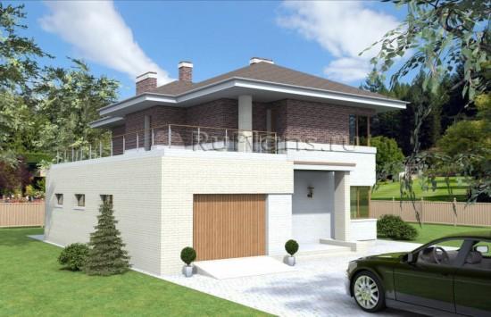 Комфортный двухэтажный дом Rg3858