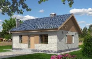 Эскизный проект гостевого дома Rg4014