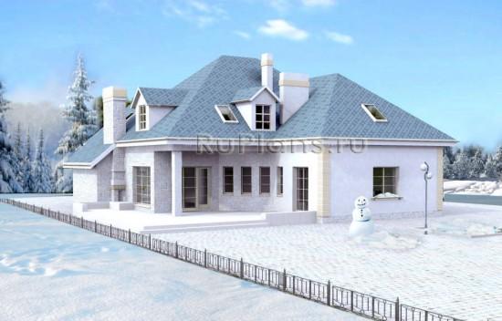 Проект уютного дома Rg3779