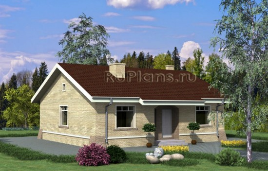 Проект загородного дома Rg4001