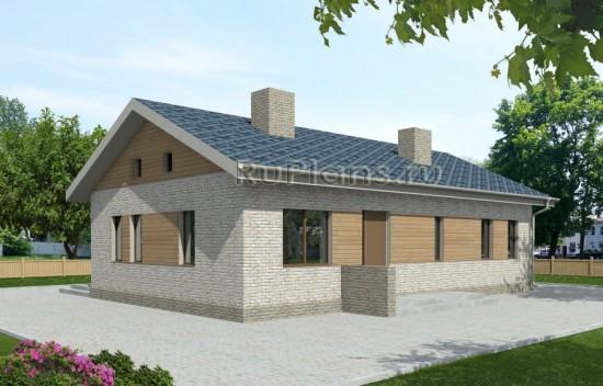 Проект одноэтажного дома Rg3926