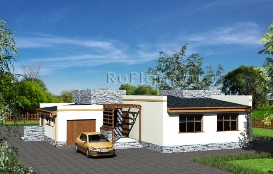 Проект современного жилого дома Rg3803