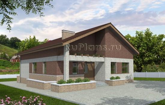 Проект дома с подвалом Rg3909
