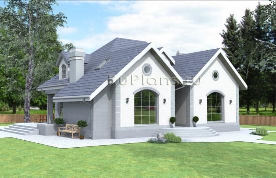 Проект стильного современного дома Rg4005