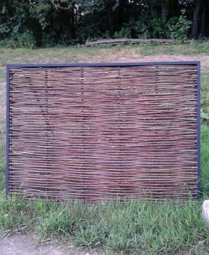 Плетеная изгородь